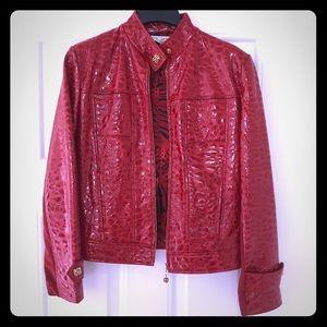 Vintage St. John Patent Leather Jacket
